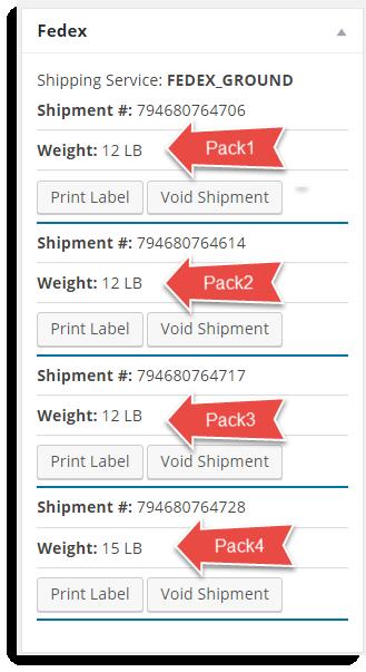 Edit Order page