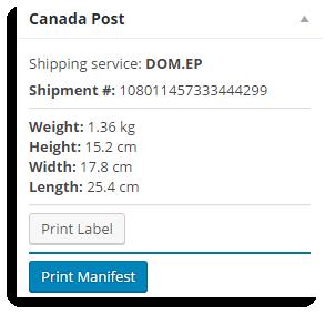 Print Manifest