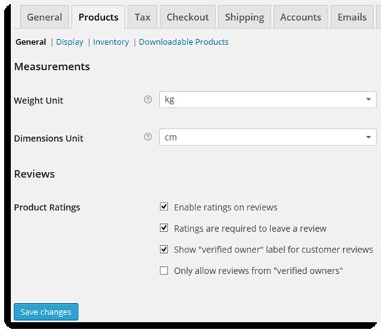 Product measurement Unit