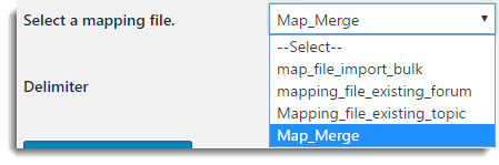 Mapping File