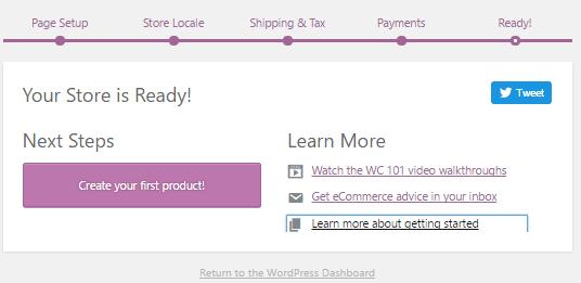set up WooCommerce pages || ELEX
