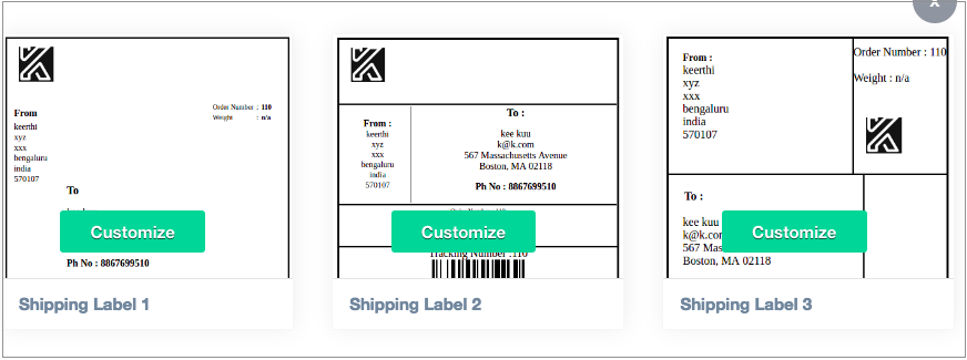 How To Setup Print Invoice Packing Slip Delivery Note Label - Custom invoice generator