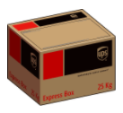 UPS 25kg Box