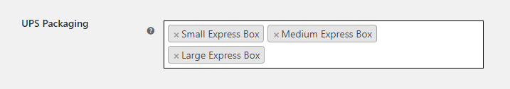 Choosing Express Boxes using UPS shipping plugin