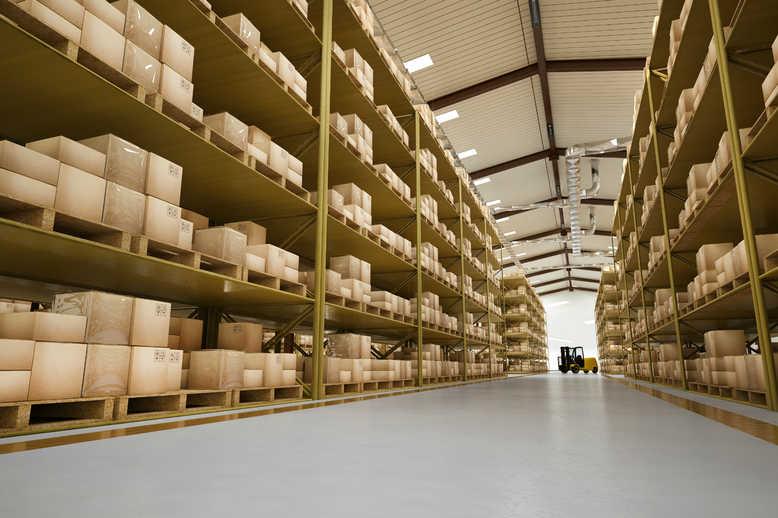 Warehouse for high volume International shipping