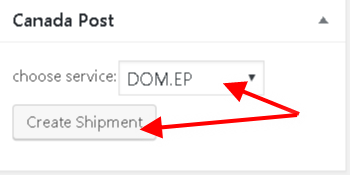 Create Shipment