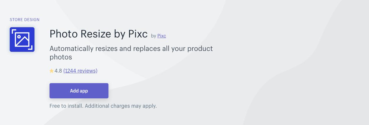 Pixc - Photo Resize